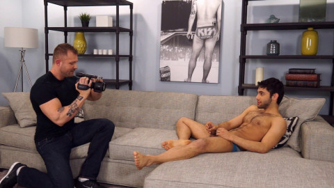 Shawn Abir makes his homosexual porn debut with the assist of Austin Wolf