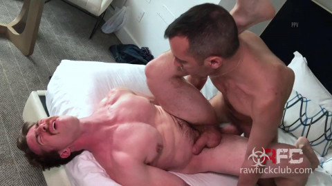Big cock for a mustached whore