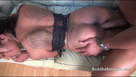 big ass mexican slut Blue Haze loves black dick