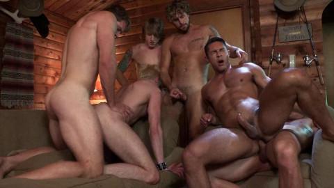Scared Stiff, man Orgy - Scenes 4