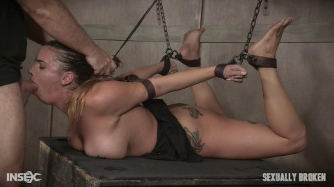 Scarlet Sade - Sexy Girl Next Door has her first Bondage (2017)