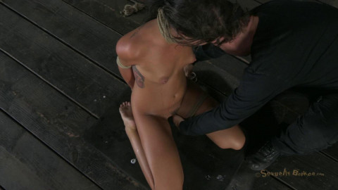 19 year old Midwest girl is skull fucked