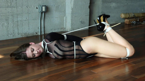 CaptiveChrissy - Harnessed & Hogtied Pt. TWO