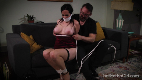 Undercover Cop Gets Tied Up