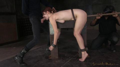Redheaded Violet Monroe Strictly Shackled...(Feb 2015)