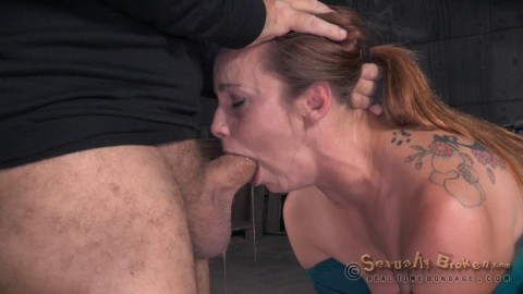 SexuallyBroken - Aug 03, 2015 - Big breasted Bella Rossi is bound and brutal shackled rough sex