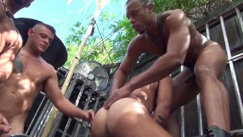 Rawfuckclub - Logan Moore Gets Gang Banged