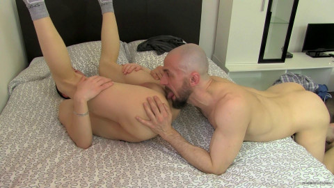 Cheating On His Wife With A Hung Bottom - Eric Lenn & Andrew Kitt