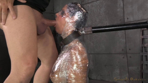 Syren De Mer Wrapped, Mummified AndShackled