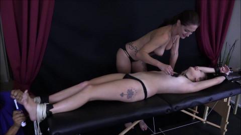 HD Bdsm Sex Videos A Ticklish trap part 4 Jackie tickle agonorgasmos