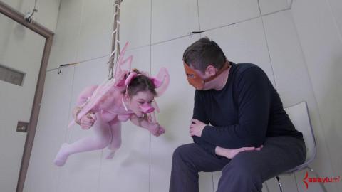 Extreme embarrassment & anal castigation