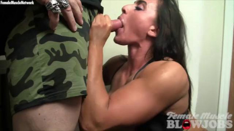 Female Muscle Blowjobs (12 video)
