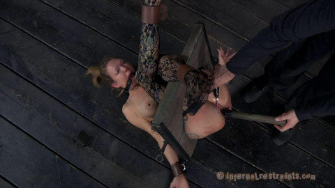 Bondage, spanking and soreness for sexy blond part 2