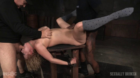 Cherry Torn - Busty blonde cums her brains out on cock and the worlds most powerful vibrator (2016)