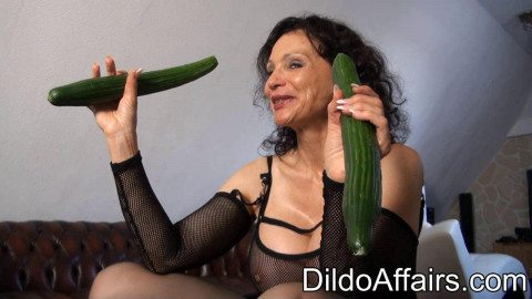 Michaela and cucumber