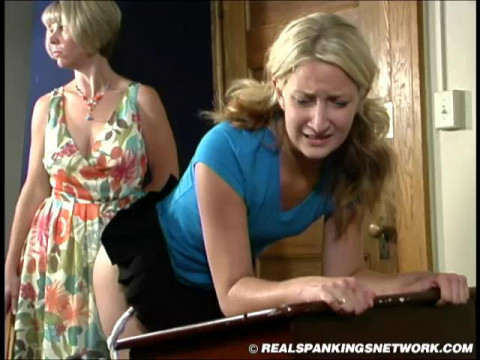 Sarah in the episode Sarahs Classroom Strapping