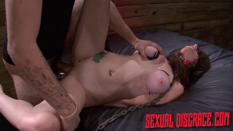 SexualDisgrace - Jun 06, 2014 - Dillion Carter Awaits Slave Training Bound and Gagged