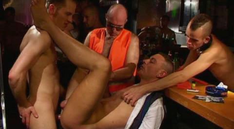 Bareback Sex At Night Lair