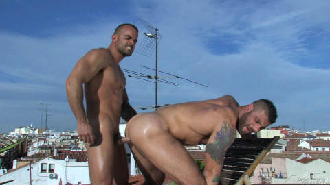 Rooftop Sex With Damien Crosse & Alex Marte