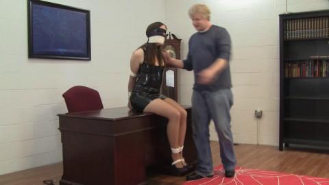 Anya Alexander - New Secretary Broke In By The Boss