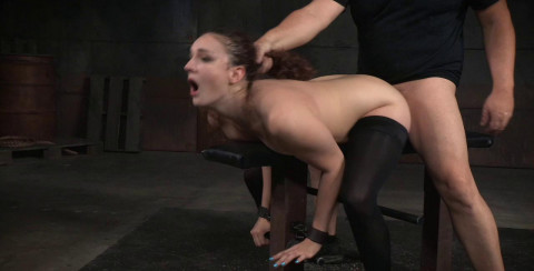 Endza Is Roughly Fucked Without Mercy By Hard Cock!