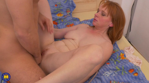 Jalena M - Horny housewife doing her toyboy FullHD 1080p