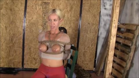 Brendasbound - Panty Hose Hogtie