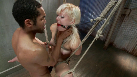 Cute Young Blonde Overwhelmed - Only Pain HD