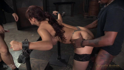 Sexuallybroken - Nov 16, 2015 - Part two of Syren de Mers BaRS show with rough brutal fucking