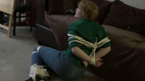 Izzy fastened gagged wrong address part 1