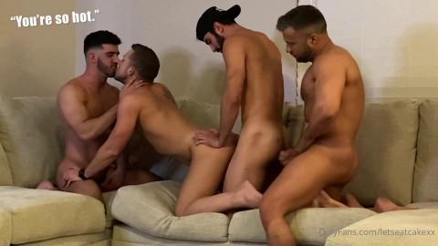 LetsEatCakeXx - Foursome With Kaden and Joe