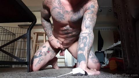 Michael Hoffman Flex And Cum 8 (1080p)