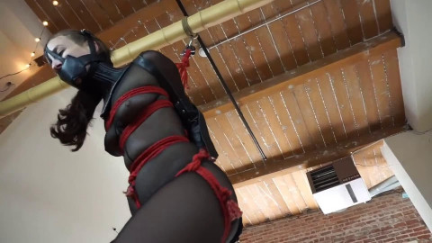 Super tying, strappado and domination for sexy hot angel HD 1080p
