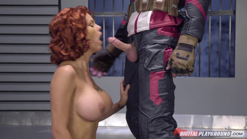 Peta Jensen - Captain America A XXX Parody (2016)