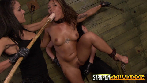 StraponSquad - Sep 12, 2014 - Brooklyn Daniels & Ava Kelly Give Smart Mouth Sex Slave