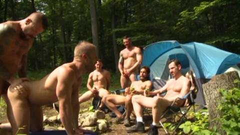 Raw Gangbang Party At Wood