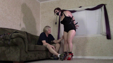 Jenna Holloway - Leather Bound and Leashed