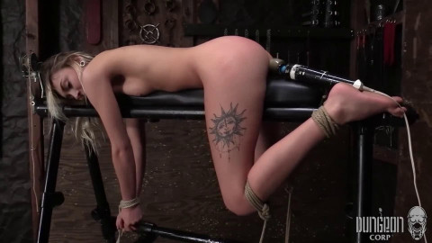 Bondage, spanking, strappado and punishment for very sexy hotty part 2