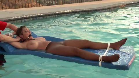 Dee Williams In the Pool