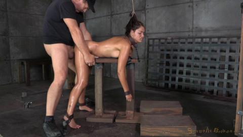 Busty Brunette Ava Dalush - Brutal Deepthroat and Rough Sex!(Sep 2014)