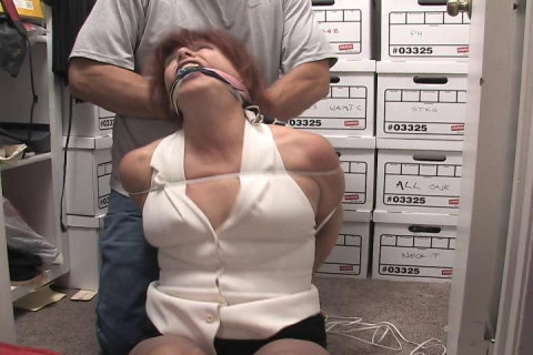 Manell-Tie the MILF up & stash her in the closet!