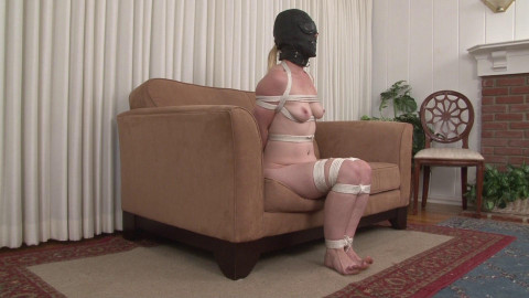 Helpless Naked Hooded and Roped - Miss Cody Hunter