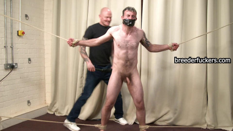 Gareth - Hot wax leaked on his sore gazoo