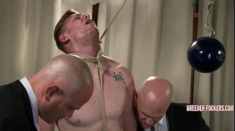 Mark - Stripped, breath control, knob fastened, anus