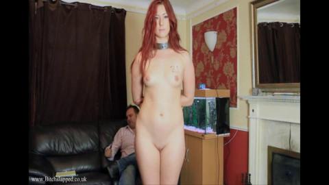 Tight restraint bondage, domination and spanking for slutty doxy Full HD 1080p