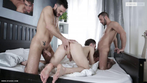 Cock-Mad In Orgy With Triple Penetration