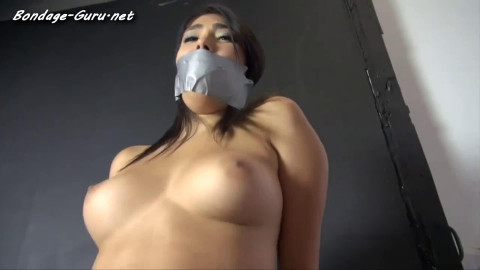 Tight restraint bondage and domination for 2 stripped slavegirls Full HD 1080p