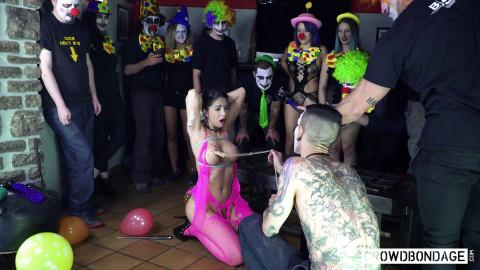 Beautiful Romanian Brunette Julia De Lucia Gets Dominated and Tortured