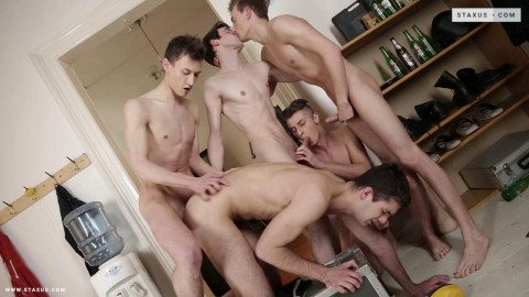 Raw Orgy For Horny Buddies