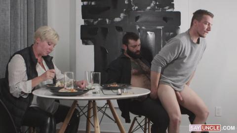 Markus Kage copulates William Moores butthole 1080p